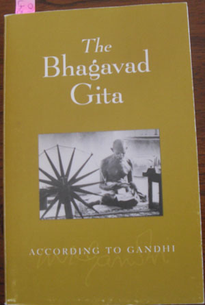 Image for Bhagavad Gita, The According to Gandhi