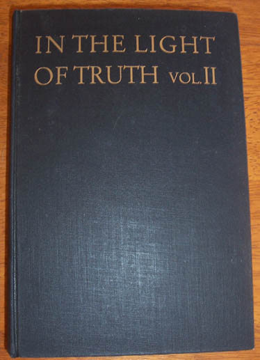 Image for In the Light of Truth: The Grail Message - Volume 2