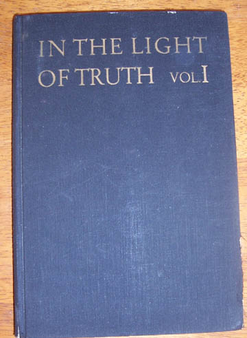 Image for In the Light of Truth: The Grail Message - Volume 1