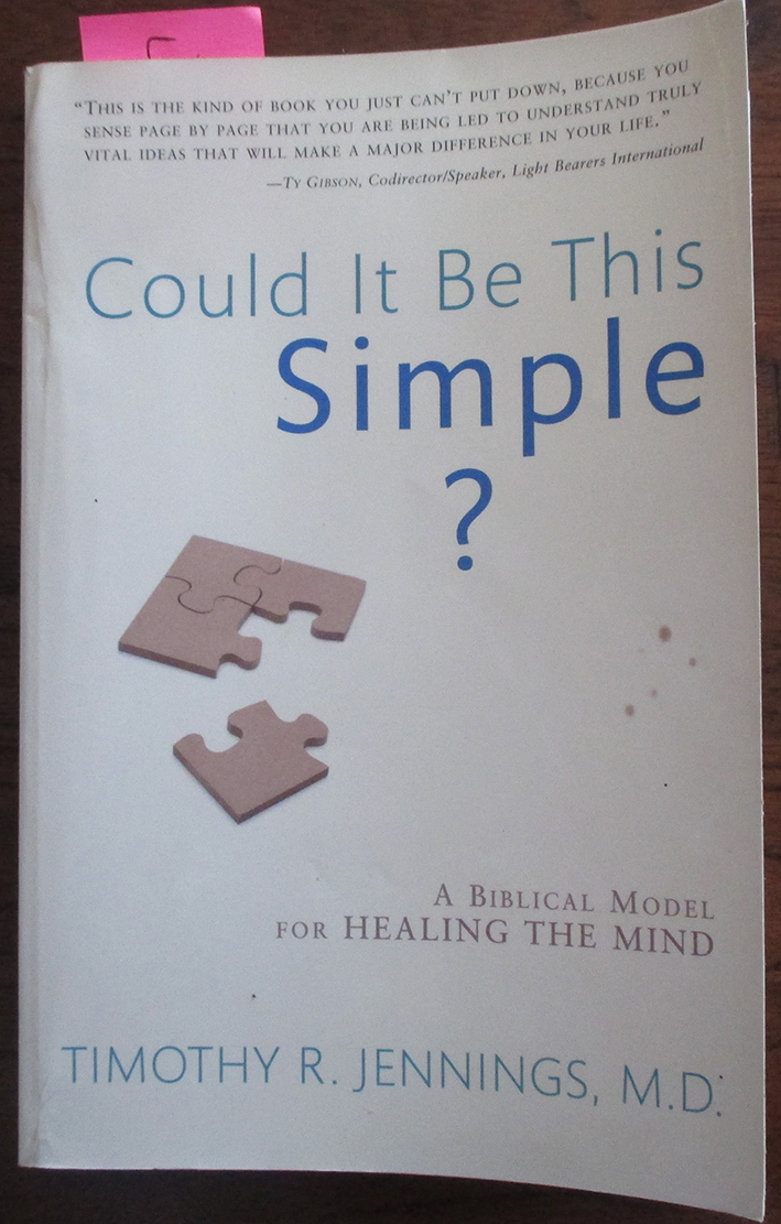 Image for Could It Be This Simple? A Biblical Model For Healing the Mind