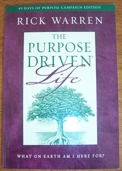 Image for Purpose Driven Life, The