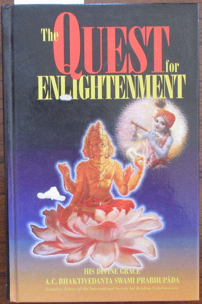 Image for Quest for Enlightenment, The: Articles From Back to Godhead Magazine
