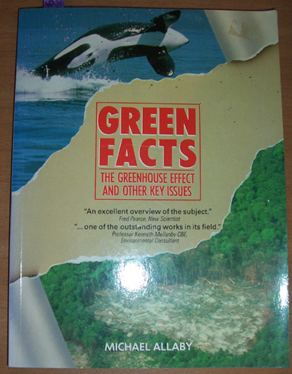 Image for Green Facts: The Greenhouse Effect and Other Key Issues