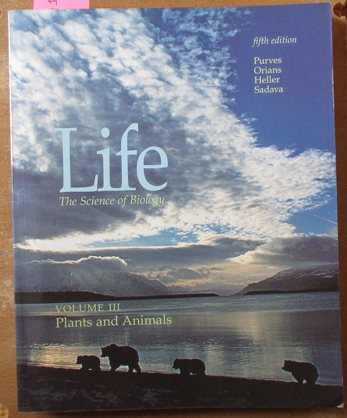 Image for Life: The Science of Biology - Plants and Animals (Vol. 3)