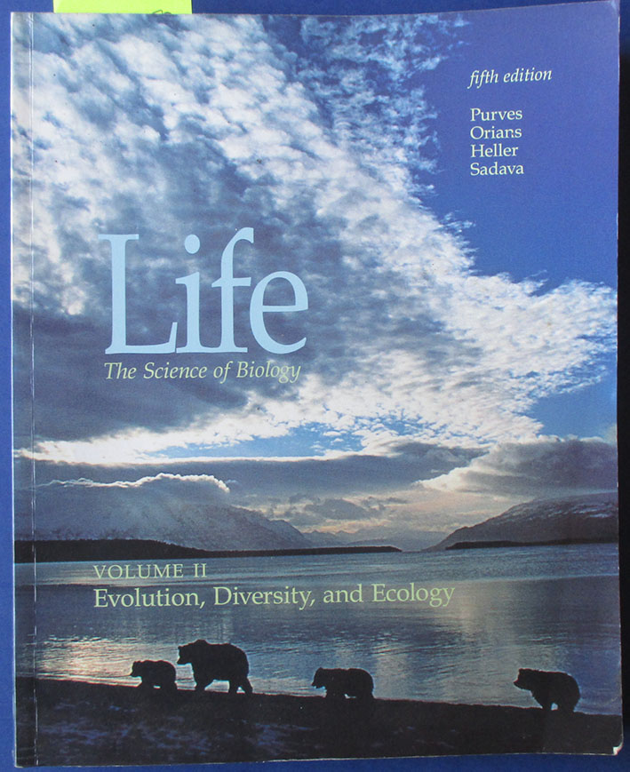Image for Life: The Science of Biology - Evolution, Diversity, and Ecology (Vol. 2)
