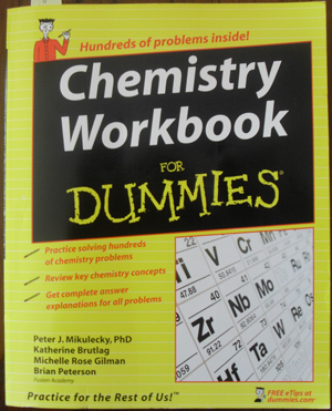 Image for Chemistry Workbook for Dummies