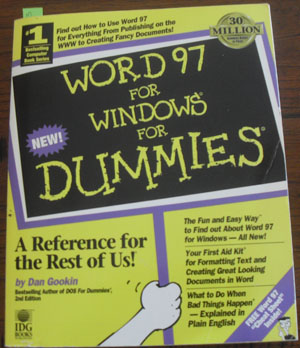 Image for Word 97 for Windows for Dummies