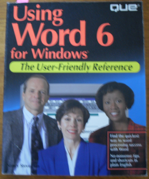 Image for Using Word 6 for Windows: The User-Friendly Reference