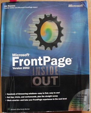 Image for Microsoft FrontPage Version 2002 Inside Out with CD-Rom
