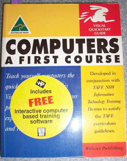 Image for Computers: A First Course