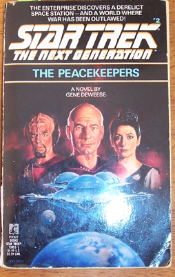 Image for Star Trek: The Next Generation; The Peacekeepers