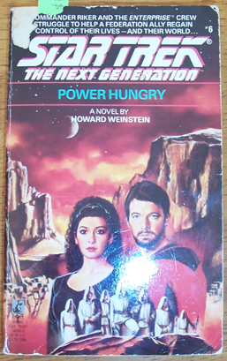 Image for Star Trek: The Next Generation; Power Hungry