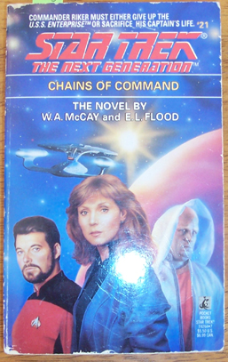 Image for Star Trek: The Next Generation; Chains of Command