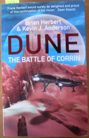 Image for Battle of Corrin, The: The Legends of Dune Series (#3)