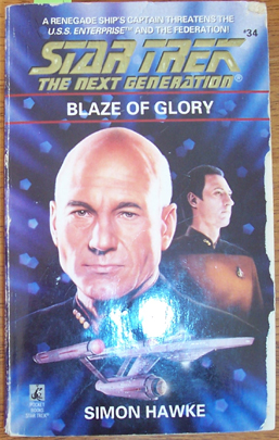 Image for Star Trek: The Next Generation; Blaze of Glory