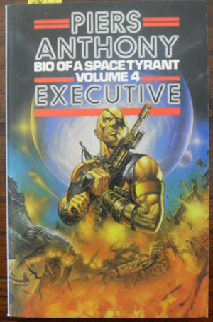 Image for Executive: Bio of a Space Tyrant (Volume 4)