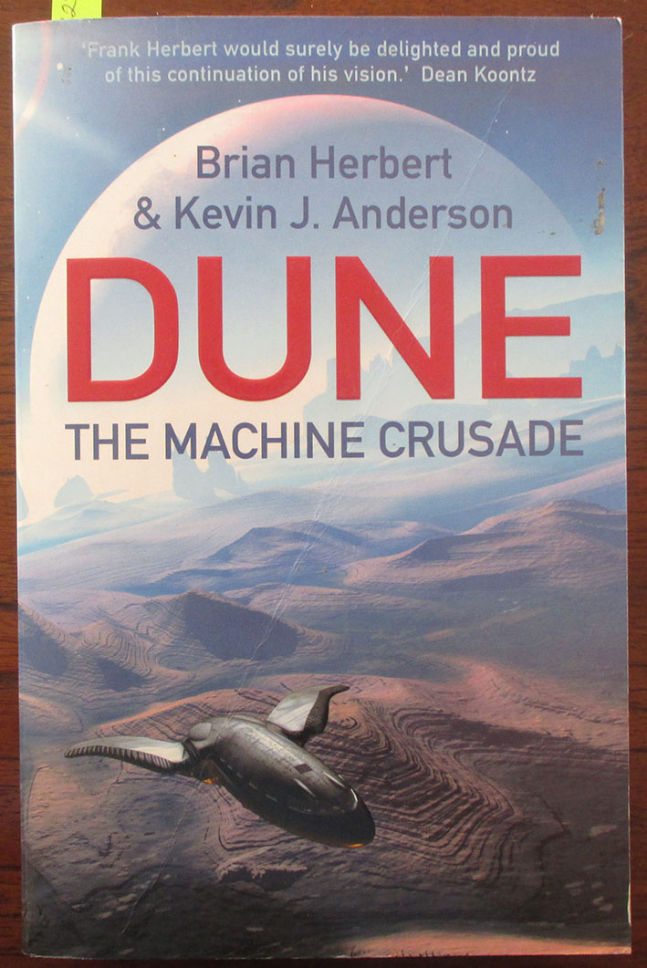 Image for Machine Crusade, The: Legends of Dune Series (#2)