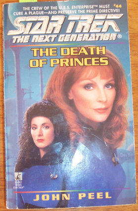 Image for Star Trek The Next Generation: The Death of Princes