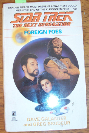 Image for Star Trek The Next Generation: Foreign Foes