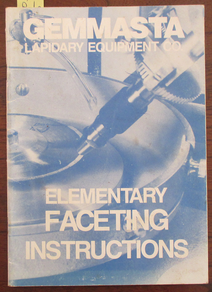 Image for Elementary Faceting Instructions