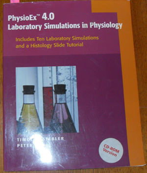 Image for PhysioEx 4.0: Laboratory Simulations in Physiology