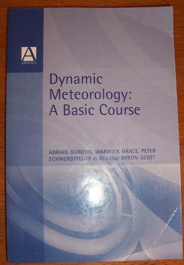 Image for Dynamic Meteorology: A Basic Course