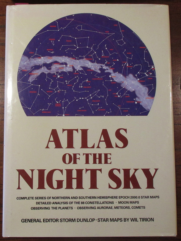 Image for Atlas of the Night Sky