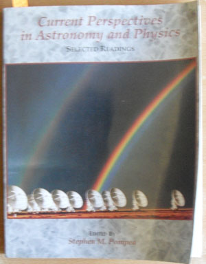Image for Current Perspectives in Astronomy and Physics: Selected Readings