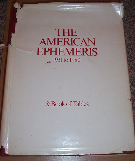 Image for American Ephermeris, The: 1931 to 1980