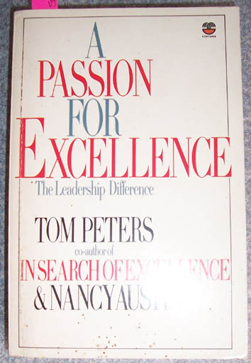 Image for Passion for Excellence, A