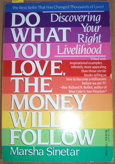 Image for Do What You Love, The Money Will Follow: Discovering Your Right Livelihood