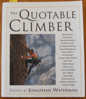 Image for Quotable Climber, The