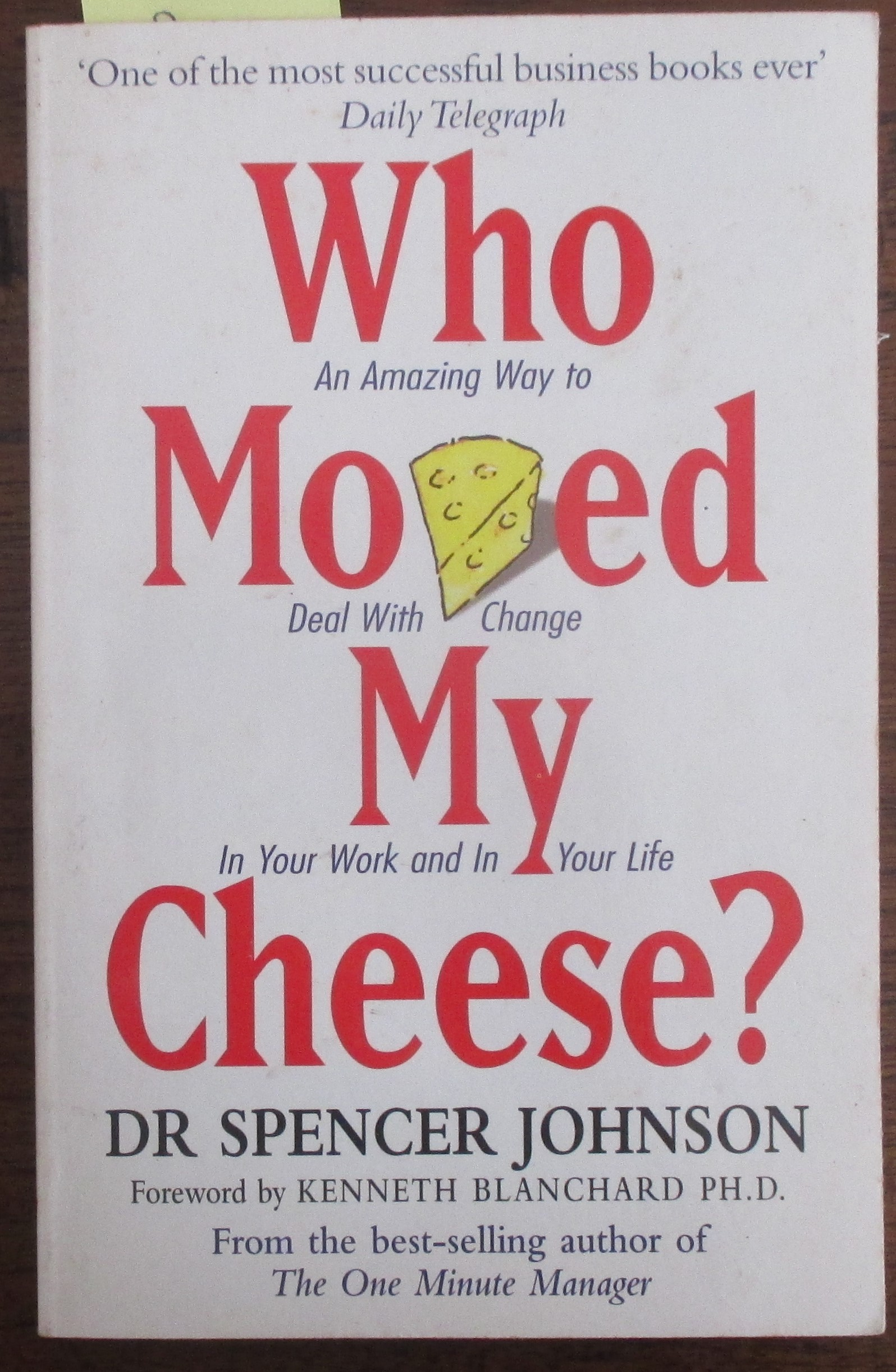 Image for Who Moved My Cheese