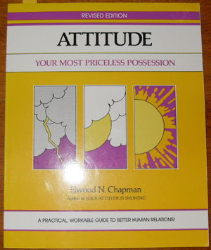 Image for Attitude: Your Most Priceless Possession