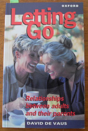 Image for Letting Go: Relationships Between Adults and Their Parents