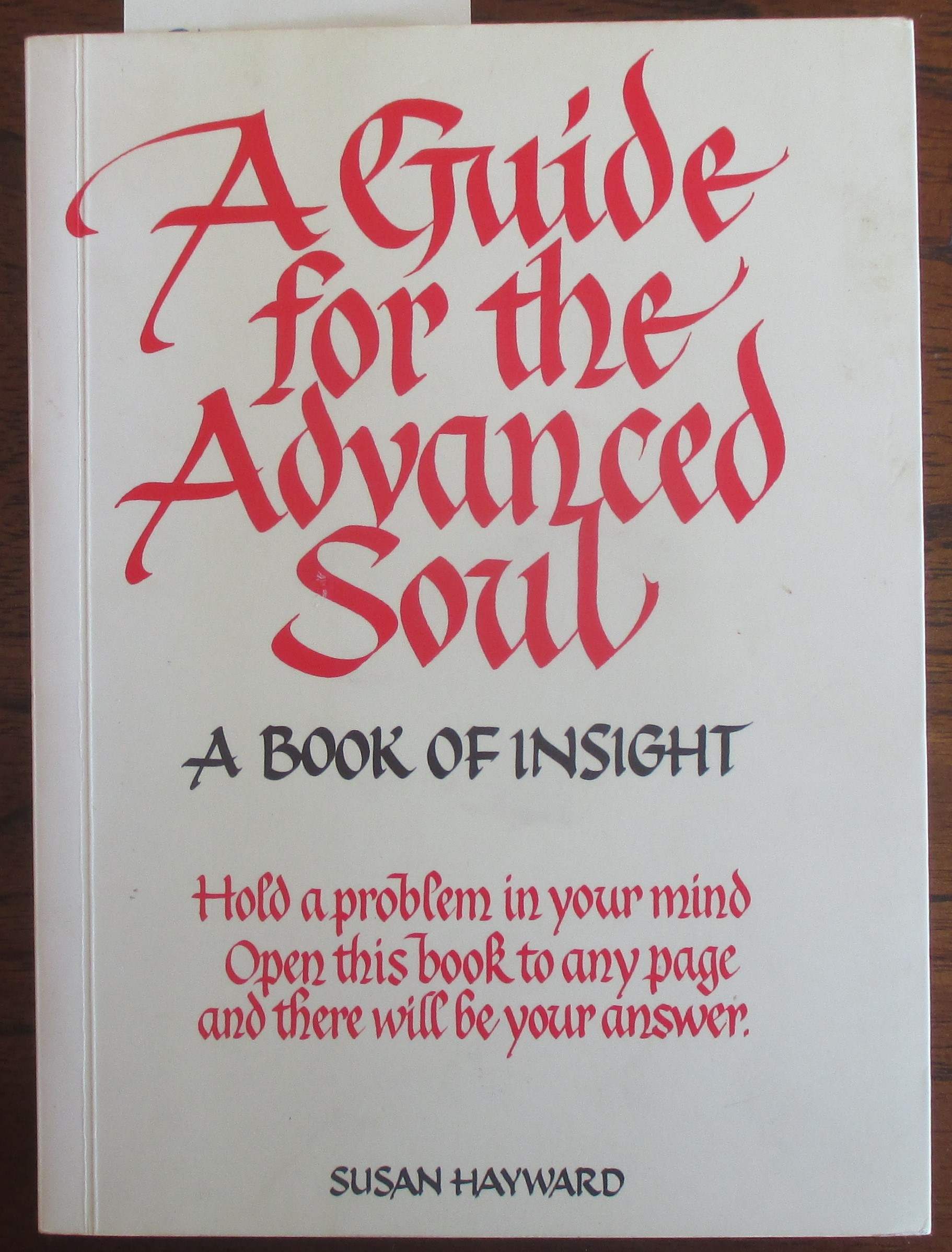 Image for Guide for the Advanced Soul, A