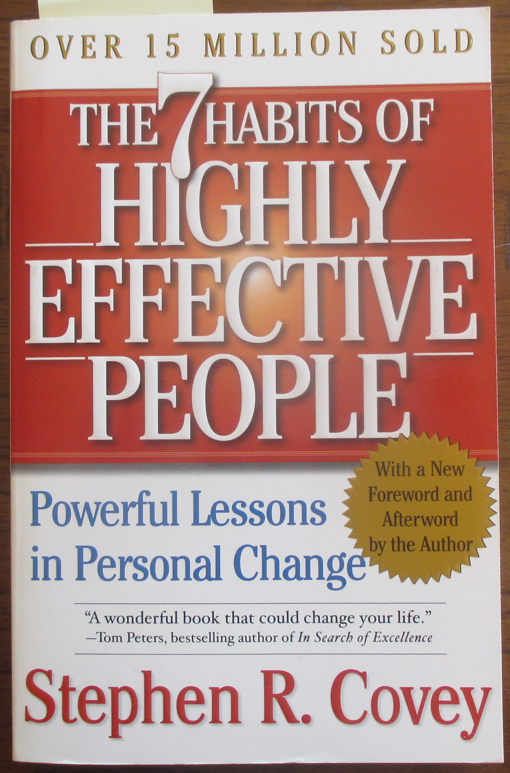 Image for 7 Habits of Highly Effective People, The