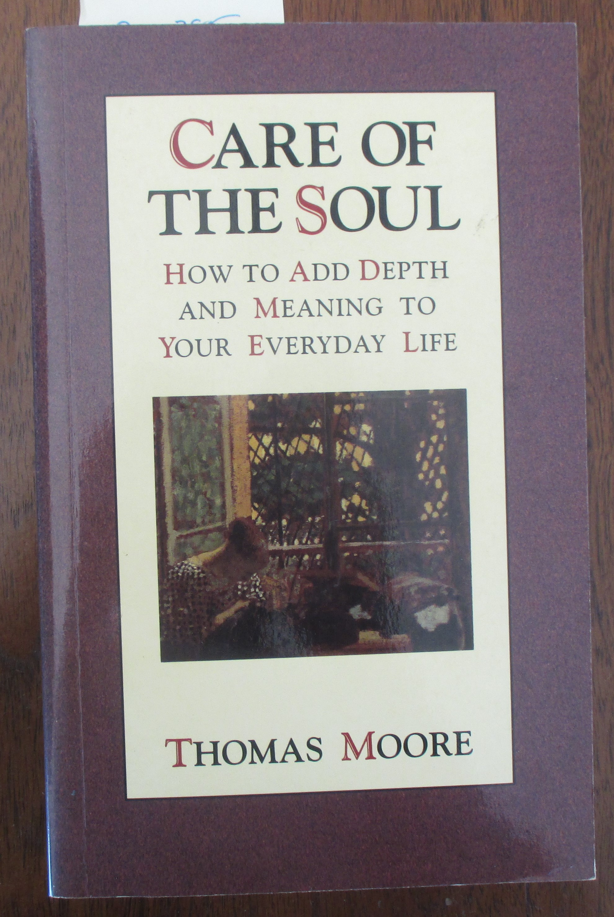 Image for Care of the Soul: How to Add Depth and Meaning to Your Everyday Life