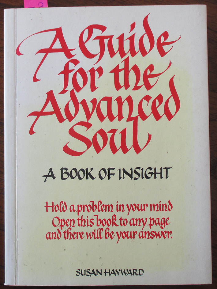 Image for Guide for the Advanced Soul, A: A Book of Insight
