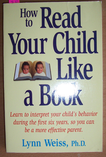 Image for How to Read Your Child Like A Book