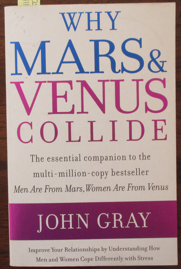 Image for Why Mars & Venus Collide: Improve Your Relationships By Understanding How Men and Women Cope Differently With Stress
