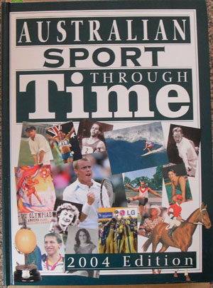 Image for Australian Sport Through Time: 2004 Edition