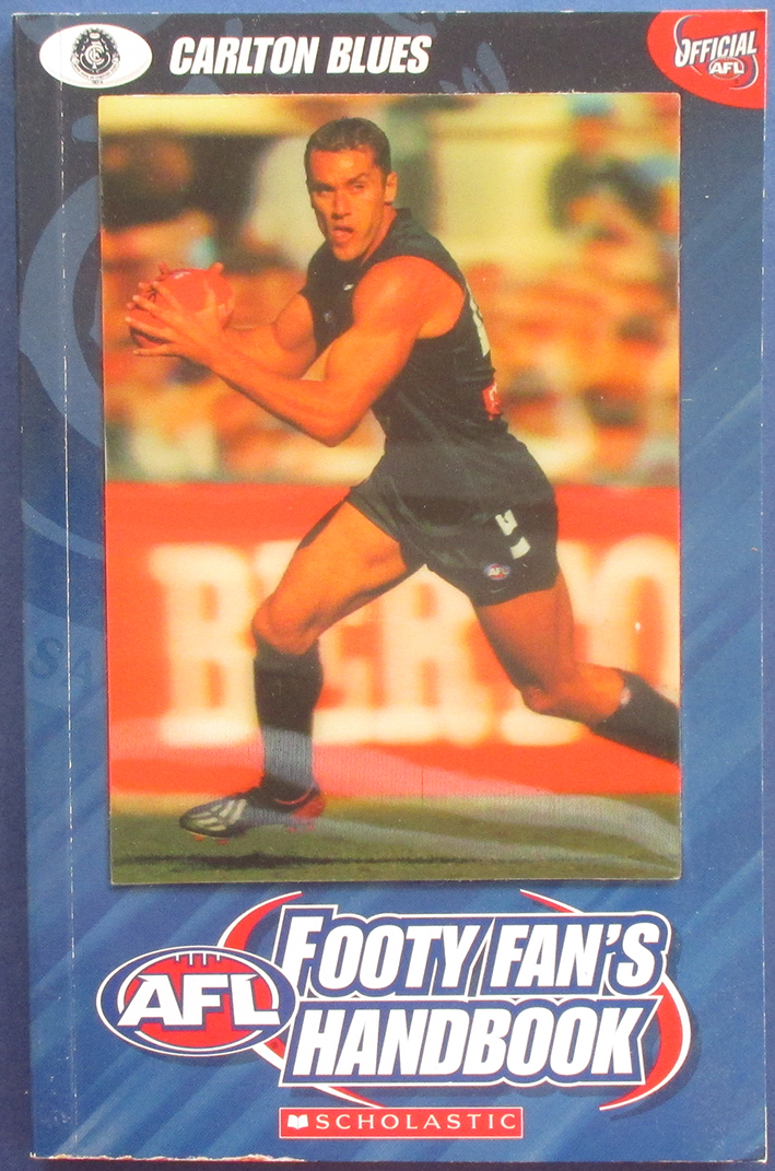 Image for AFL Footy Fan's Handbook: Carlton Blues