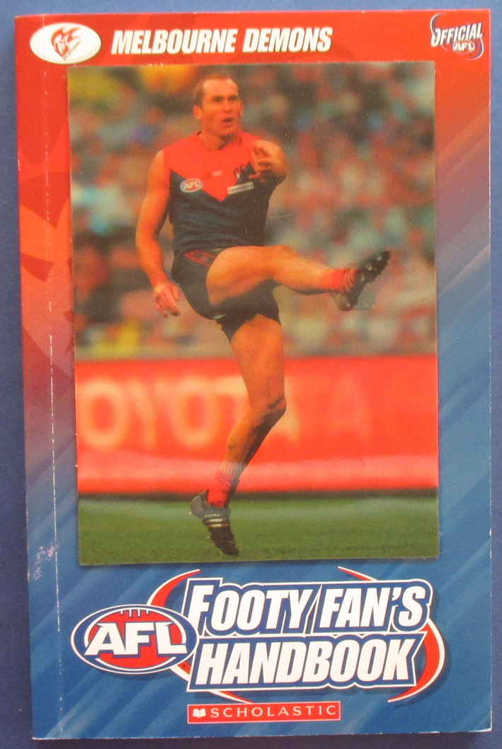 Image for AFL Footy Fan's Handbook: Melbourne Demons