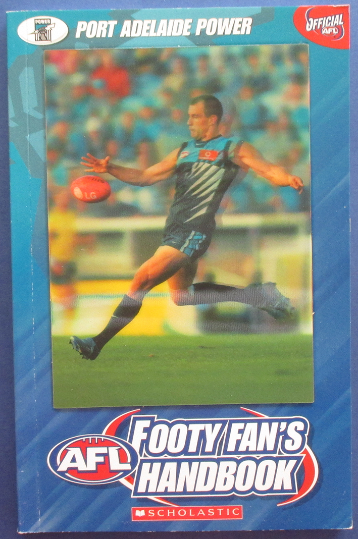 Image for AFL Footy Fan's Handbook: Port Adelaide Power