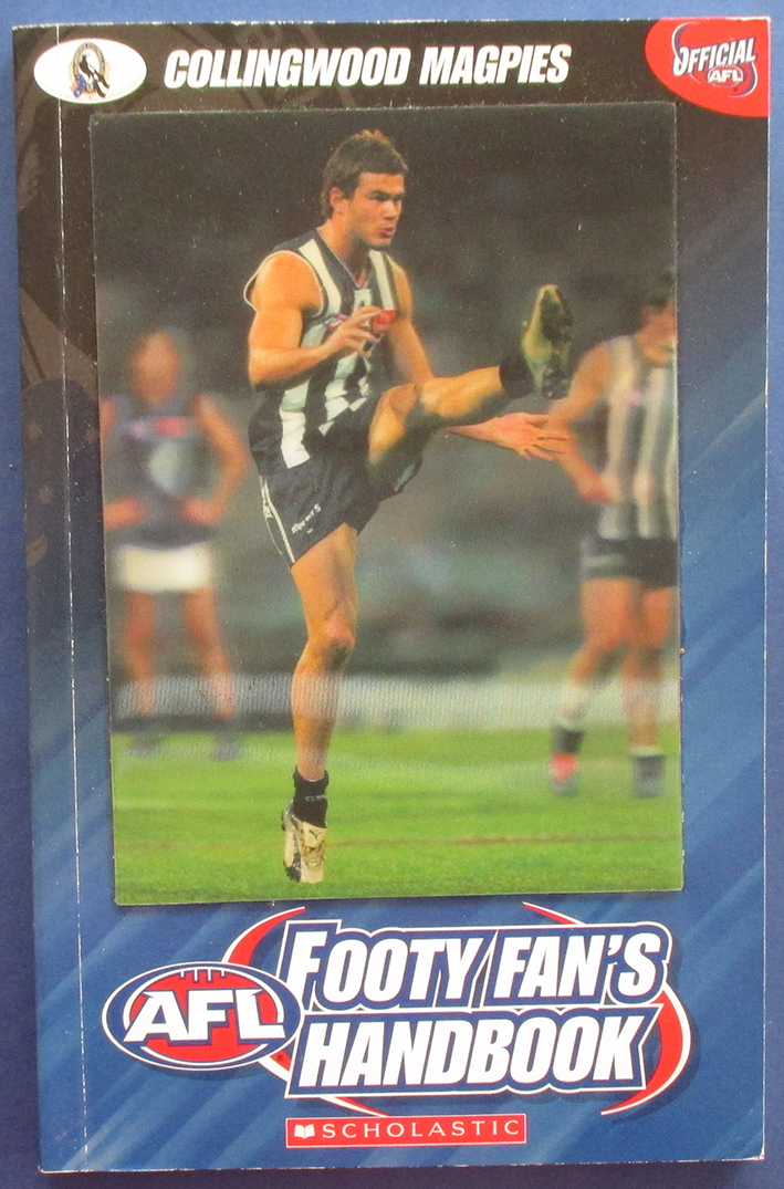 Image for AFL Footy Fan's Handbook: Collingwood Magpies