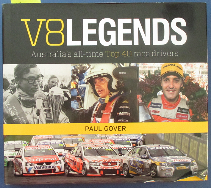 Image for V8 Legends: Australia's All-Time Top 40 Race Drivers