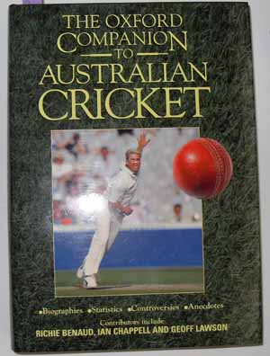 Image for Oxford Companion to Australian Cricket, The