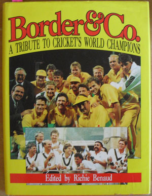 Image for Border & Co.: A Tribute to Cricket's World Champions