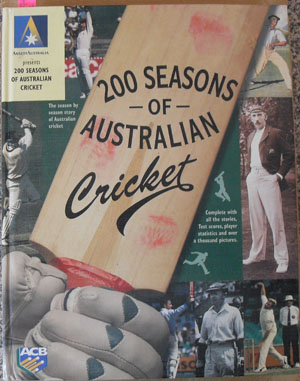Image for 200 Seasons of Australian Cricket